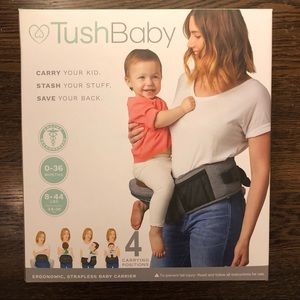 Tushbaby Other - NWT Tushbaby Baby Carrier 0-36 Months or 8-44 lbs